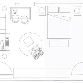 Project #1.3 Stefano's apartment {bedroom &studio}
