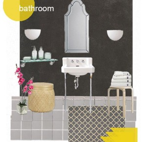 Project #2.5: the Suite Apartment {bathroom}